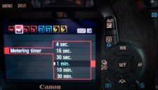 DSLR Video - Meter Menu