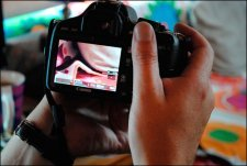 DSLR Video - Zoomed Live View Screen