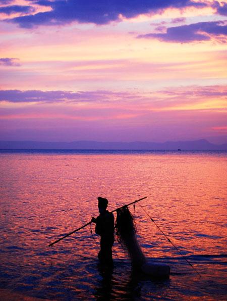 Damien Lovegrove in Cambodia