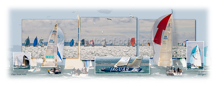 Photos of Boats - Cowes 2010