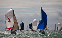 Photos of Boats - Cowes Week 2010