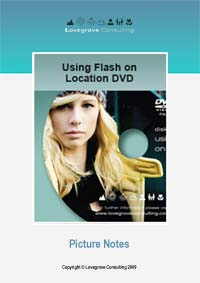 DVD Picture Notes - Using Flash on Location