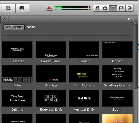 how to add multiple audio effects on audio in imovie
