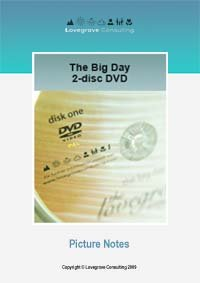 DVD Picture Notes - The Big Day