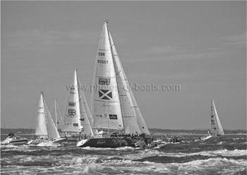 Photos of Boats - Black & White