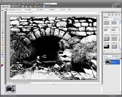 Monochrome Conversion PE Screen 5