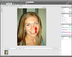 Red Eye Removal PE Screen 4
