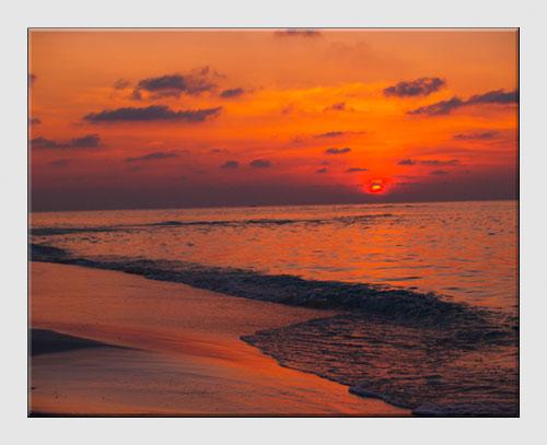 Sloping Horizon