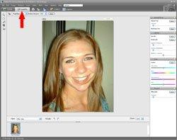 Red Eye Removal PE Screen 1
