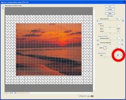 Sloping Horizon PE Screen 4