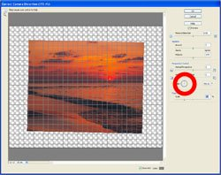 Sloping Horizon PE Screen 5