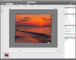 Sloping Horizon PE Screen 7